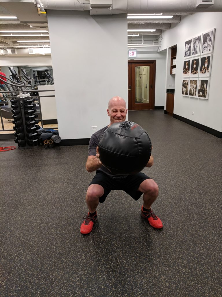 medicine ball personal training