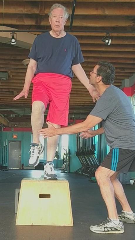 Step up balancing